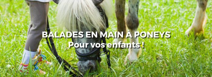 Balade en main à poney